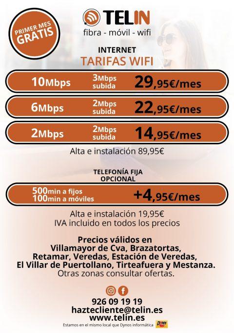 INTERNET WIFI PUEBLOS PEQUEÑOS